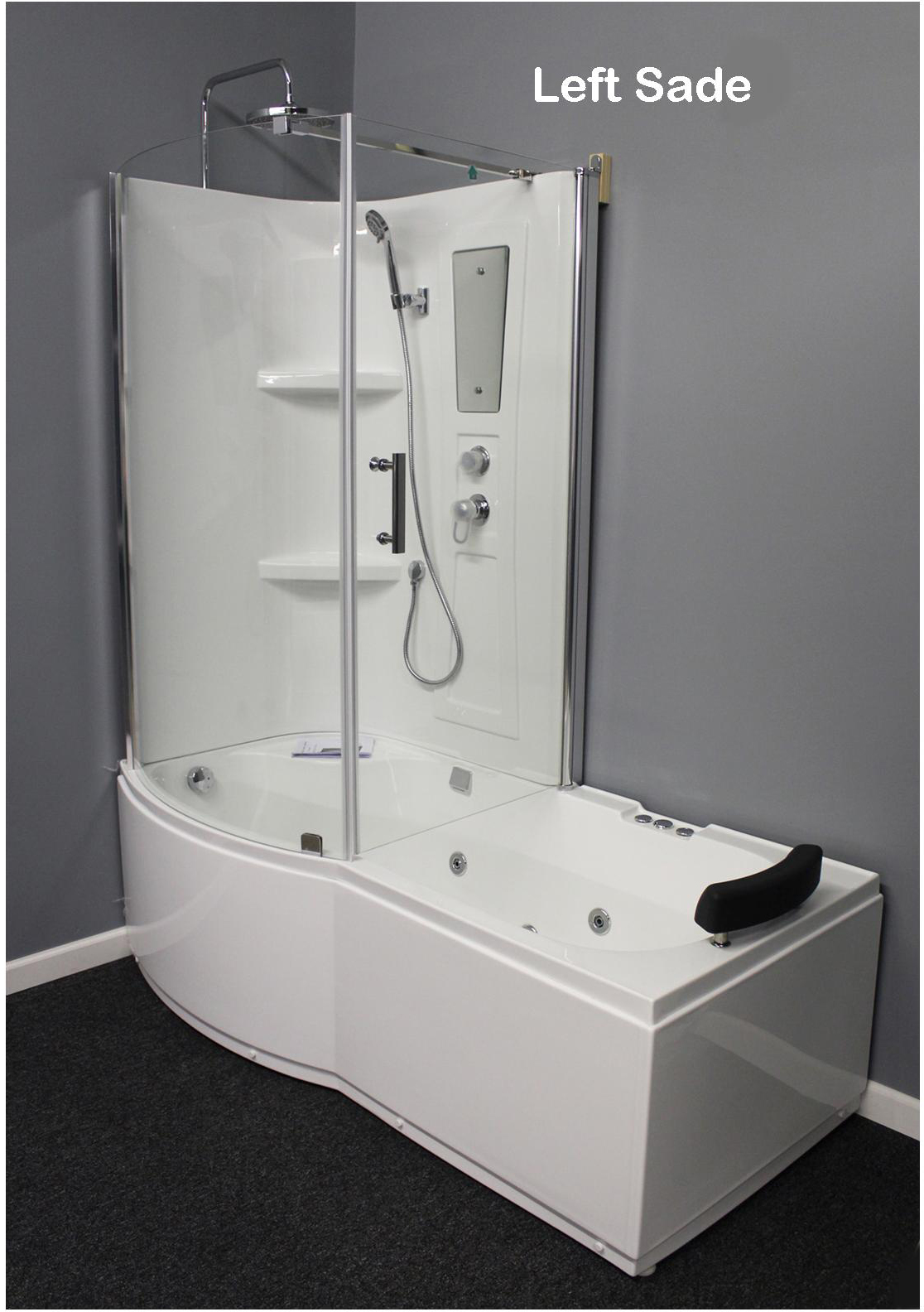 Shower Room With Deluxe Whirlpool Tub 9045 Best For Bath