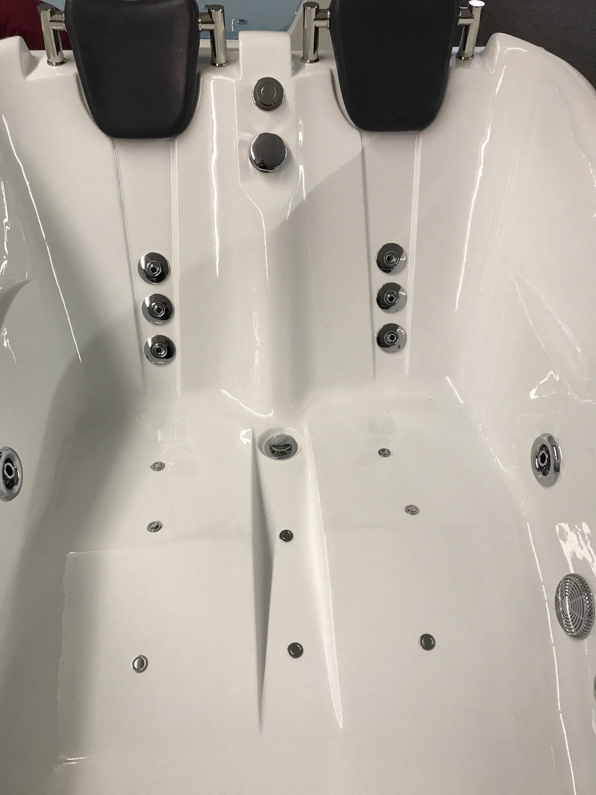 2 Person Jetted Bathtub W Air Jets Heater C022l Best For