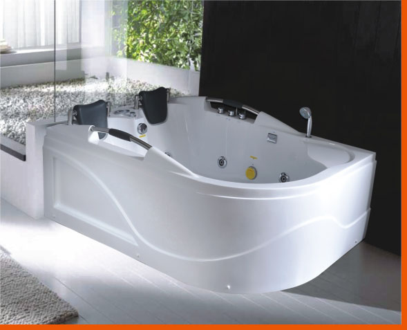 2 Person Jetted Bathtub C007b White Best For Bath
