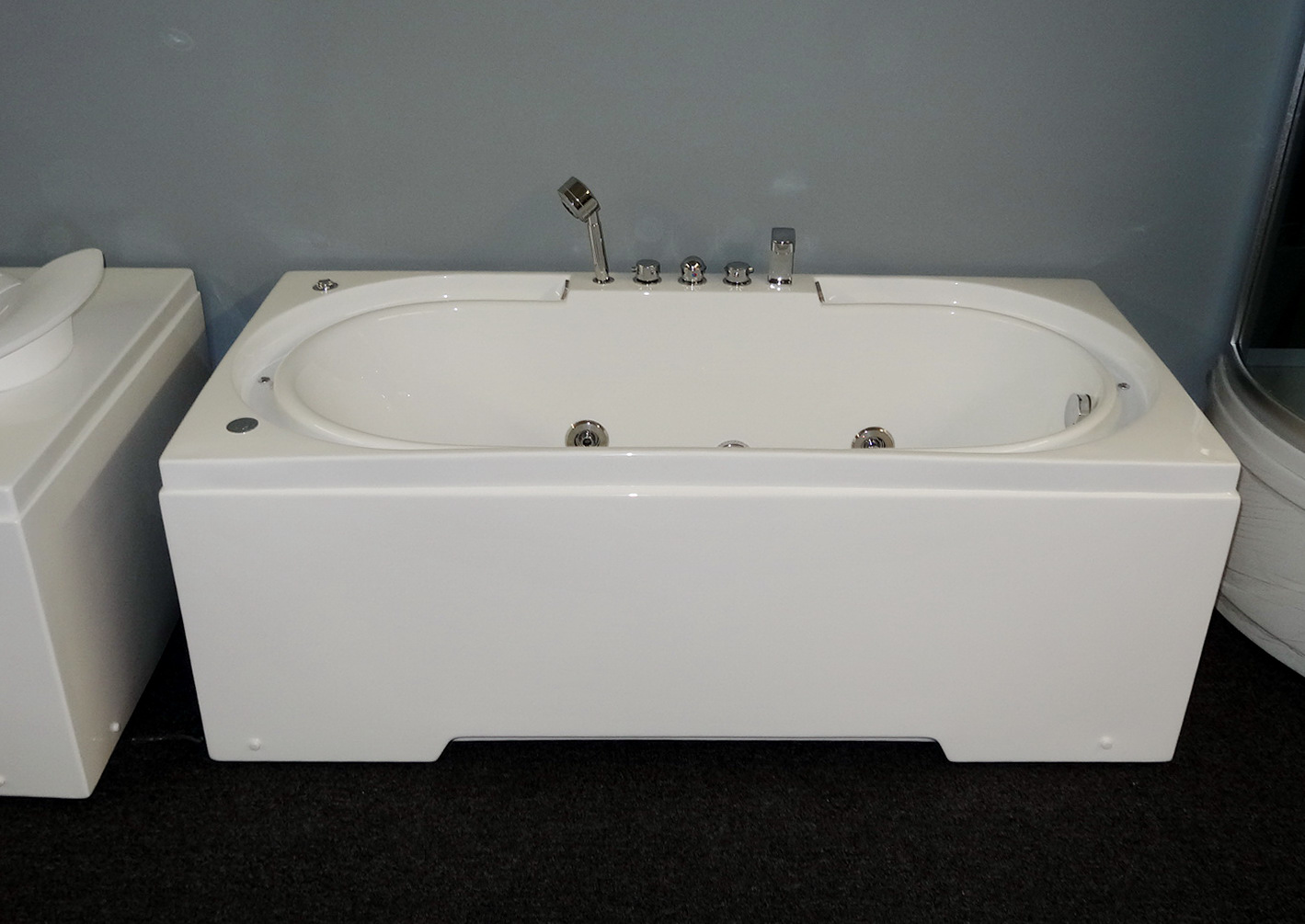 Hydrotherapy Massage Bathtub With Multicolored Led